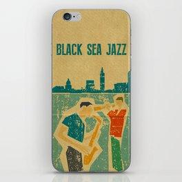 Black Sea Jazz iPhone Skin