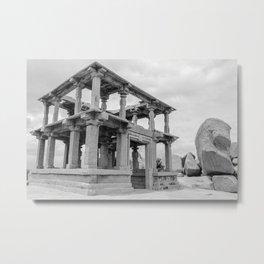 Hampi ruins Metal Print
