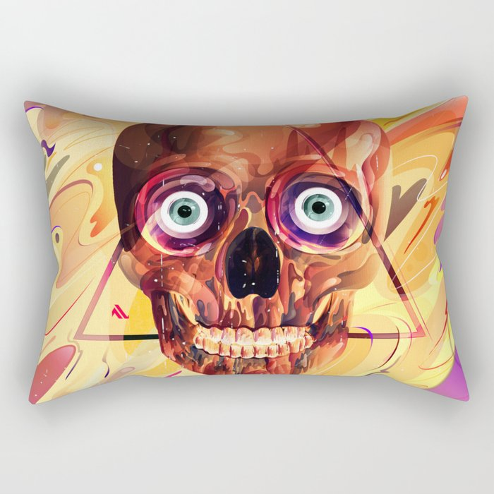 Deathzophrenia. Rectangular Pillow