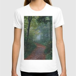 The Forest Path (Color) T-shirt