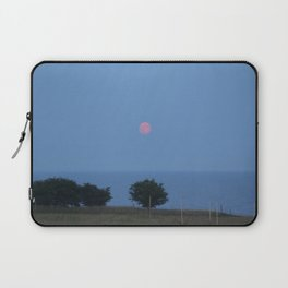 Moon Rise over Ales Stenar  Laptop Sleeve