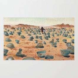 The Battlefield. Rug
