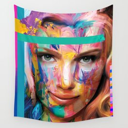 Pour some color on you Wall Tapestry