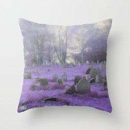 Purple Haze Throw Pillow