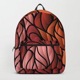 Society6 Foxy Orange Background Backpack