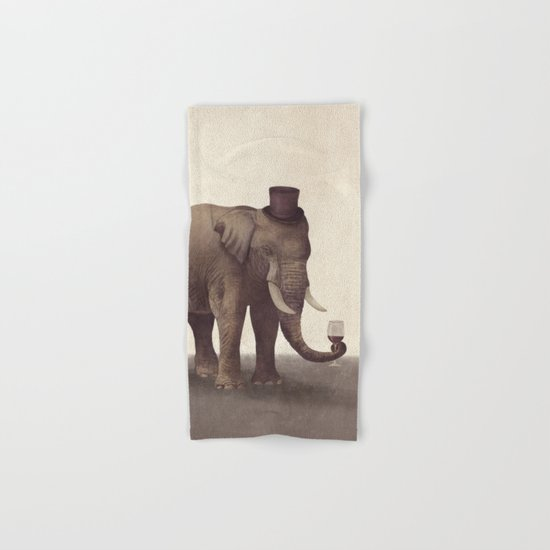 A Fine Vintage  Hand & Bath Towel