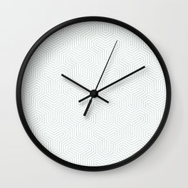 Geometric Y Shaped Pattern Wall Clock