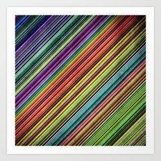Stripes II Art Print
