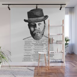 Alfie Solomons Ink'd Series Wall Mural