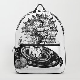 Space tree of Life Backpack