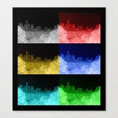 London Skyline Montage Canvas Print
