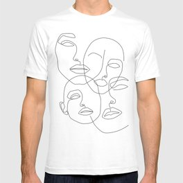 Messy Faces T-shirt