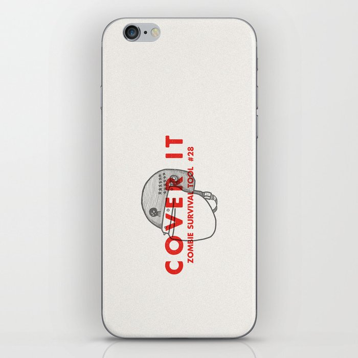 Cover it - Zombie Survival Tools iPhone Skin