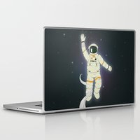 outer space Laptop & iPad Skins featuring Outer Space by Tuylek