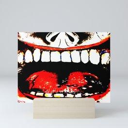 Deranged Smile Mini Art Print