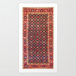 Songhor Kelleh Hamadan West Persian Rug Pring Art Print