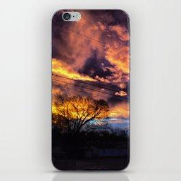 Fire Skies iPhone Skin