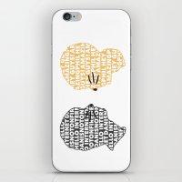 danisnotonfire iPhone & iPod Skins featuring Phan by ElectricShotgun