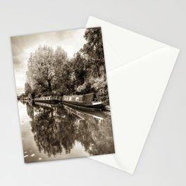 Narrow Boats Little Venice Stationery Cards