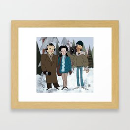 Groundhog Day Framed Art Print