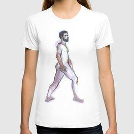 ED, Nude Male by Frank-Joseph T-shirt