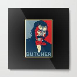"Bill the Butcher ""Hope"" Poster Metal Print"