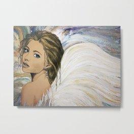 Angel Gwendolyn Metal Print