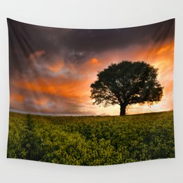 When the Sun Rose Wall Tapestry