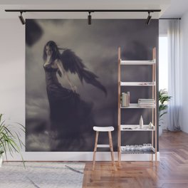Black Angel Wall Mural