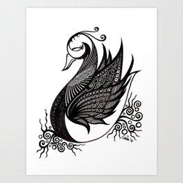 Composure Art Print