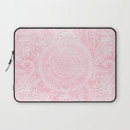 Medallion Pattern in Blush Pink Laptop Sleeve