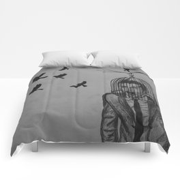 Is this living free?  Comforters