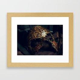 Mirror Mask (2) Framed Art Print