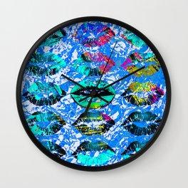 Lip-Syncing Art #decor Wall Clock