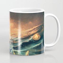 Refugees in a nutshell Coffee Mug