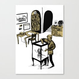 Professor Lupin Canvas Print
