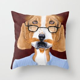Mr. Retired Throw Pillow