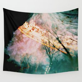 into the forest (pinhole camera) Wall Tapestry