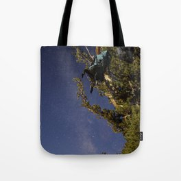 Undiscovered Backpackers Tote Bag