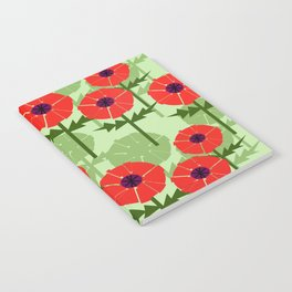 Poppies Contempo Notebook
