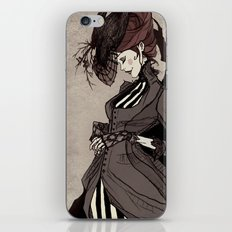 Black Silk iPhone Skin