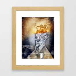 The producer Framed Art Print