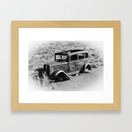 Old Car by Jennifer Kearney Framed Art Print