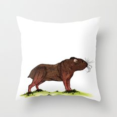 Hamweiler Throw Pillow