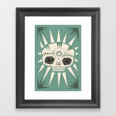 Sugar skull II Framed Art Print