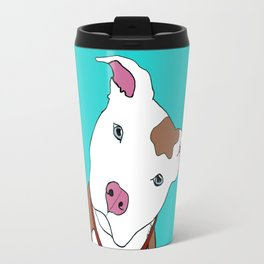 Pit bull Travel Mug