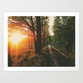 Sunset Road • Appalachian Trail Art Print