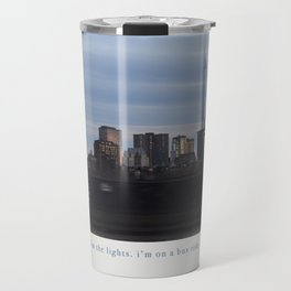 Boston By Bus Travel Mug