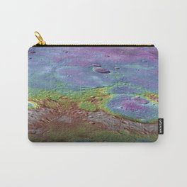 NASA-planet-asteroid poster Carry-All Pouch