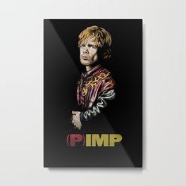 (P)IMP Metal Print